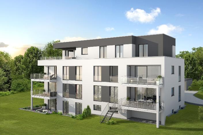 Blumberg sch rg architekten neubau eines for Mehrfamilienhaus modern